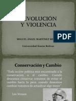 REVOLUCIÓN y VIOLENCIA