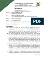 INFORME N°158 REMITO PLANILLA DE PAGO ESTADIO MES ABRIL
