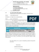 INFORME N°157 CONFORMIDAD DE PAGO ASISTENTE TECNICO MAYO