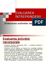 Evaluarea activelor necorporale