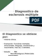 Diagnostico de Esclerosis Múltiple