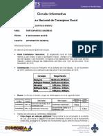 1. Circular Informativa Congreso - Nov 9 2015