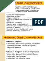 1.Present. Curso y Profesores
