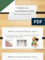 Modelos de DM - Ampulheta e Pirâmide