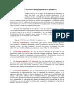 1.6 Aplicaciones de Las Funciones en La Ingeniería en Alimentos