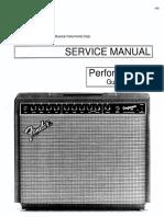 Fender Performer-650 Guitar Amplifier