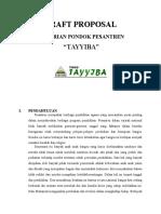 Draft Proposal Pesantren Tayyiba