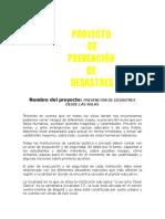 prevención Desastres 2016