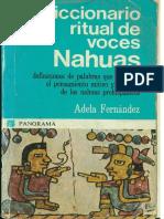 Diccionario Ritual de Voces Nahuas - Adela Fernandez