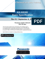 KX-NS300 Presentation