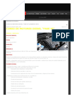 Curso de Motores Diesel _fase Vi_ (25 Marzo 2017)