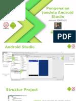 Pengenalan Jendela Android Studio
