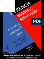 (Languages for Business) Stuart Williams, Nathalie McAndrew-Cazorla-French Business Situations_ A Spoken Language Guide -Routledge (1995).pdf
