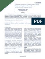 Prácticas Educativas Comunitarias en la formación de Maestros a partir de procesos pedagógicos interdisciplinarios en el marco del Modelo Educativo Socio Comunitario Productivo