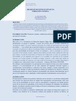 IDEARIO DE DOCENTES EN OPTAR UNA FORMACIÓN CONTINUA