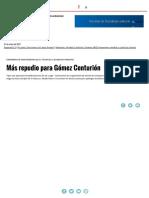 Más Repudio Para Gómez Centurión _ Página12 _ La Otra Mirada