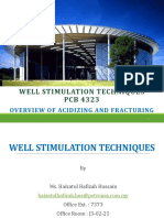 2. WST - Overview of Acidizing and Fracturing