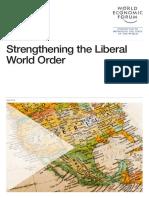 Strengthening Liberal World Order Wef