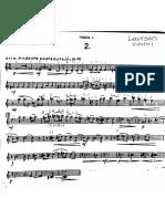 Larrson Violin 1 Bowed