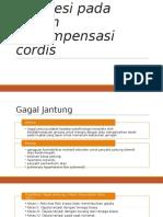 Manajemen Perioperatif Anestesi Pada Pasien Decompensasi Cordis