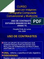 Clase 2 Radiobiologia y Usos Del Contraste Enfermeria.estudios Dinamicos Angio Tc
