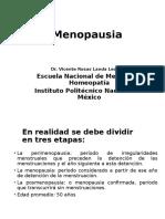 Menopausia Homeopatía