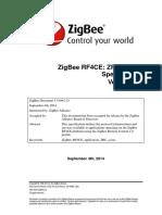 105546r02ZB Zigbee Rf4ce Sc-ZigBee Remote Control Application Profile Public