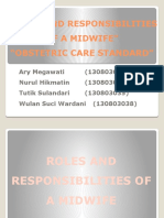 Roles and Responsibilities of a Midwife