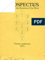 Anderson, Chester --PROSPECTUS I Ching and the Systems of the West