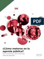 Labcom - Informe Semanal de Agenda Pública - Enero 17, Semana 4