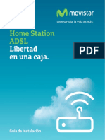 Guia Instalacion Home Station ADSL ZTE H108N