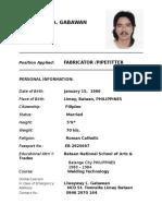 Ferdinand a. Gabawan
