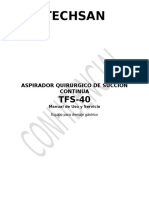 34 Aspirador Gastrico Techsan Tfs-40