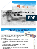 Ebola-chikunguya y Zika
