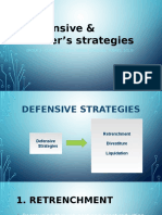 Defensive and Porter_s Strategies