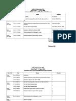 Jadwal Pembekalan PKL