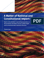 A Matter of National and Constitutional Import