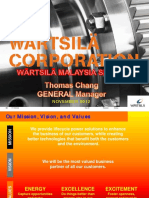 General Overview of Wartsila