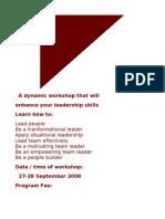 Leadership PubCourse Hanoi