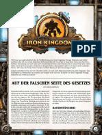 Iron Kingdoms Freebies - Verbrecherbanden