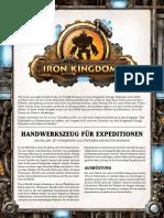 Iron Kingdoms - Freebie Erkundung