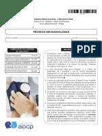Instituto Aocp 2016 Ebserh Tecnico Em Radiologia Prova
