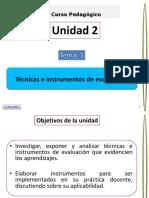 Unidad II, Técnicas e instrumentos de evaluación, 30 enero, parte I, estudiantes.pdf