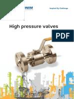 High Pressure 2016 Catalog (1)