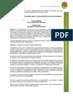 Ley de Los Derechos de Niños y Niñas en El Edo de Mexico