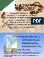 El Poder y La Necesidad del Santo Rosario