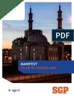Manifest Islam in Nederland