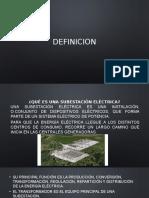 Clasificación de Una Subestación Eléctrica