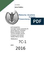 Analisis Financiero Grupo 6