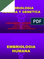 Clase 1 Embriologia Humana y Genetica